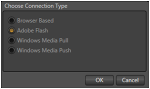 Connection Type - Adobe