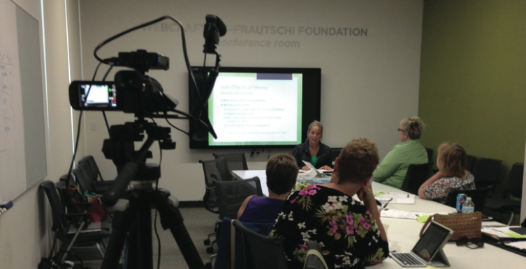 WSGNA Live Educational Broadcast at the Madison Public Library